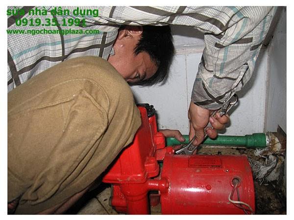Sửa máy bơm nước tại quận thủ đức