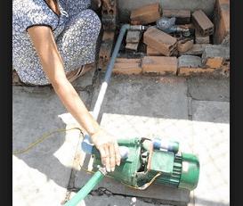 cách sửa máy bơm nước không lên nước - ảnh minh hoạ