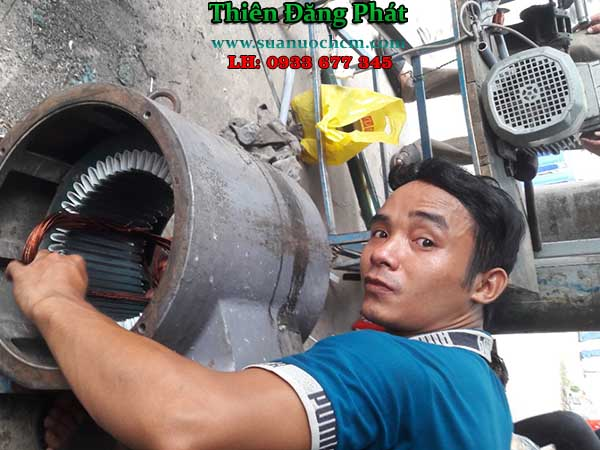 Quấn sửa motor máy bơm nước tại TP HCM