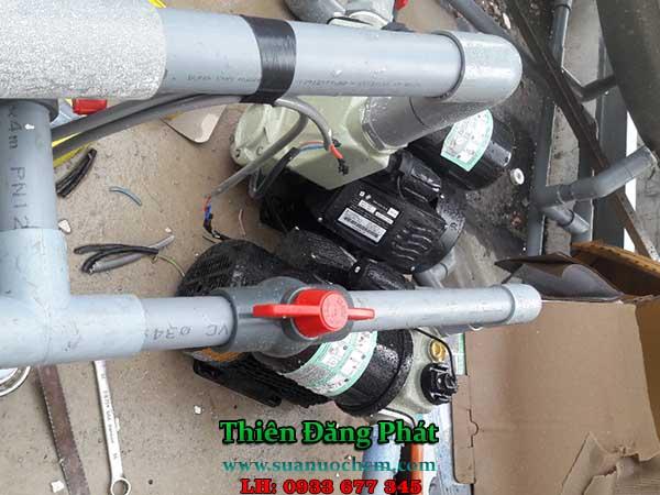 Sửa máy bơm nước giếng khoan tại TPHCM