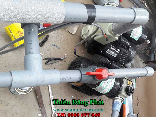 Sửa máy bơm nước tại nhà TP HCM