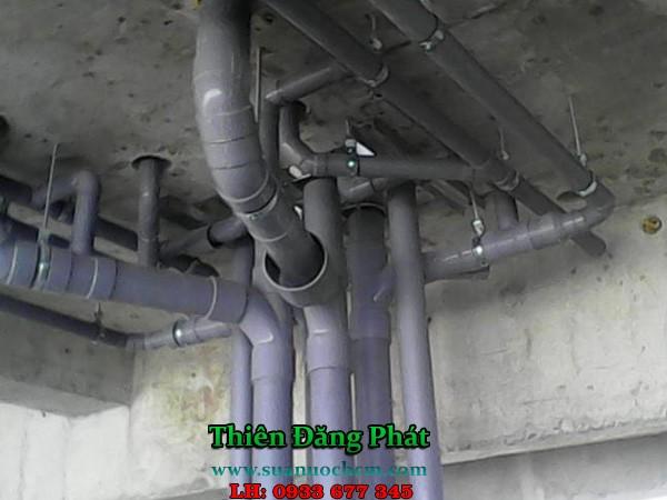 Lắp đặt đường óng nước tại TPHCM