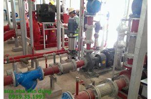 Sửa máy bơm nước công nghiệp