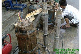 Sửa máy bơm nước giếng khoan tại TP HCM