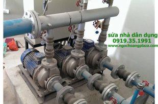 Sửa máy bơm nước phòng cháy tphcm
