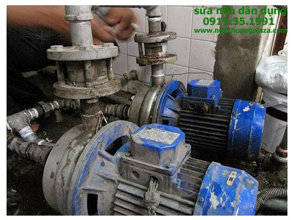 Sửa máy bơm nước quận tân bình
