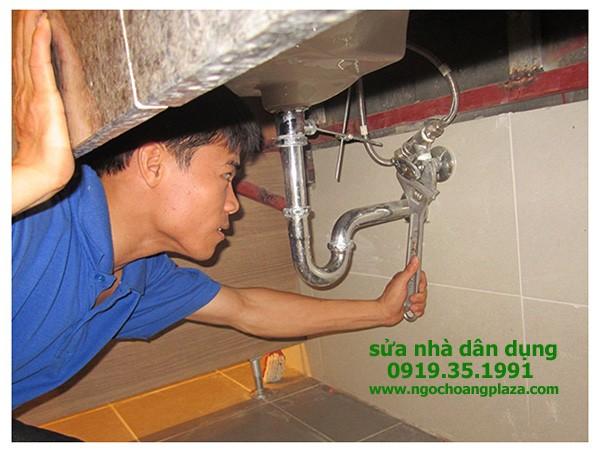 Thợ sửa ống nước tại nhà quận 8