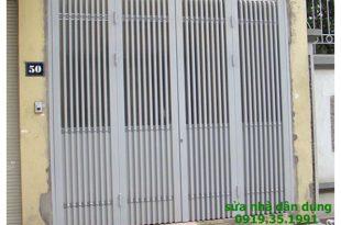 Làm cửa sắt chung cư tại tphcm