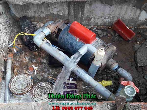 Sửa máy bơm nước giếng khoan tại quận 11